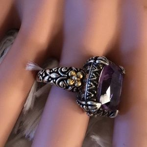 Barbara Bixby Jewelry - Beautiful Barbara Bixby amethyst ring